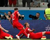 Inglaterra vs. Túnez. Foto: EFE