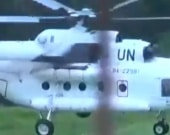 Helicóptero de la ONU.