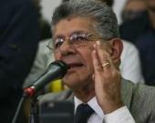 Henry Ramos Allup, presidente de la Asamblea Nacional de Venezuela. Foto EFE