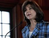 La canciller, María Ángela Holguín. Foto: AFP