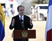 François Hollande, presidente de Francia. Foto: AFP