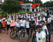 Mocoa, Putumayo, se alista para el ciclopaseo por la Hora del Planeta. Foto: @WWFColombia.