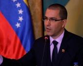 Jorge Alberto Arreaza, canciller de Venezuela. Foto: oficial
