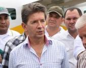 El gobernador de Antioquia, Luis Pérez. Foto: Twitter