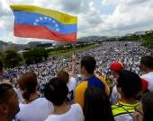 Miles de ciudadanos se manifestaron en las calles de Venezuela Foto: AFP