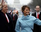Melania junto a su esposo Donald Trump. Foto: EFE.