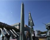 Se trata de un misil de tipo Scud. Foto: AFP