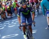 El colombiano Nairo Quintana continúa segundo en la general. Foto: AFP