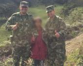 El Ministerio de Defensa informó la liberación de la menor. Foto: Ministerio de Defensa