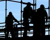 Trabajadores. Foto: AFP