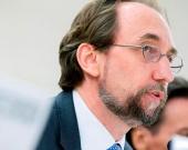 Zeid Ra'ad al Hussein, alto comisionado de la ONU para los DD.HH. Foto: EFE/ Magali Girardin