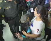 La pequeña se reencontró con su familia y es sometida a valoración médica para descartar posibles abusos sexuales. Foto: NoticiasRCN