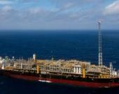 Producción petrolera marítima. Foto: AFP