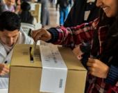 Los colombianos votaron el plebiscito el pasado 2 de octubre. Foto: AFP