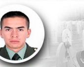 El subteniente de la Policía Edwin Andrey Hernández Rodríguez, asesinado en Arauca. Foto: @PoliciaColombia.