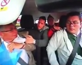 Aparte del video de seguridad que grabó el intento de robo del auto. Foto:Captura de vídeo NoticiasRCN