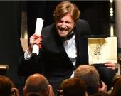 El director sueco, Ruben Ostlund. Foto: AFP
