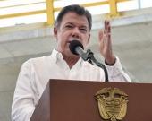 """La entrega de armas por parte de las Farc """"tendrá 20 días más"""", anunció Santos. Foto: Oficial."""