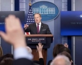 Sean Spicer, portavoz de la Casa Blanca. Foto: EFE.