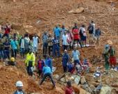 Inundaciones en Sierra Leona. Foto: EFE