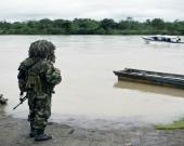 El soldado pertenecía a Fuerzas Especiales Urbanas. Foto: Luis Robayo / AFP