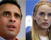 Henrique Capriles y Lilian Tintori. Foto: EFE.