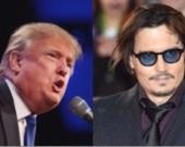 El actor Johnny Depp se disculpa por broma de asesinato de Donald Trump. Fotos: AFP.