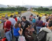 Frontera con Venezuela. Foto: AFP