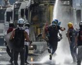 Disturbios en Venezuela.