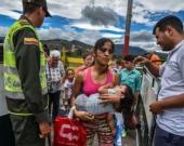 Miles de venezolanos han cruzado la frontera. Foto: Luis Acosta/AFP