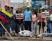 Opositores venezolanos. Foto: AFP
