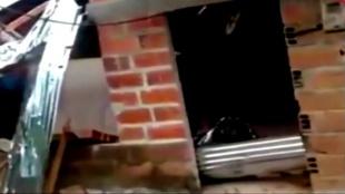 Foto: El secretario de gobierno de Tarazá confirmó la cifra de damnificados. Foto:NoticiasRCN.com