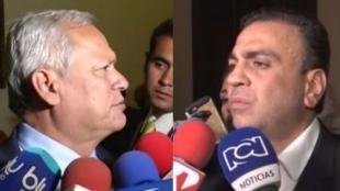 Hernán Andrade -  Musa Besaile. Foto: NoticiasRCN.com