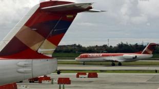 Según los pilotos, la huelga afectará casi el 50 % de la operación de la aerolínea. Foto: AFP