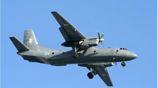 Avión tipo AN-26. Foto: Internet