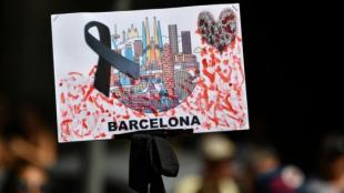 Barcelona se encuentra de luto. Foto: Pascal Guyot/AFP