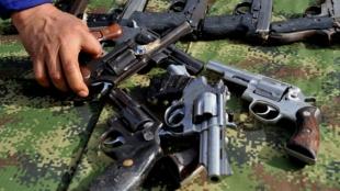 Armas de las Farc. Guillermo Legaria / AFP