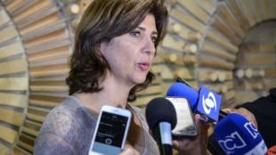 María Ángela Holguín. Foto: Francisco Jara / AFP