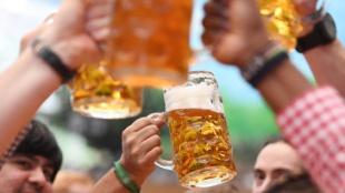 Cerveza. Foto: AFP