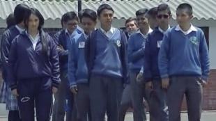 Estudiantes Colegio Campestre Stephen Hawking/ NoticiasRCN.com