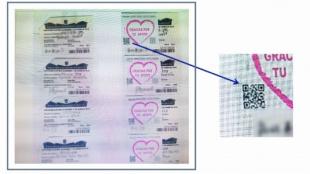 La compra de votos era controlada con códigos QR.