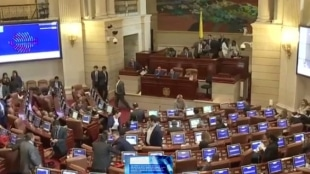 Cámara y Gobierno difieren en los debates sobre implementación de acuerdos de paz. Foto: Captura vídeo NoticiasRCN