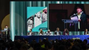 El congreso de las Farc. Foto Raúl Arboleda / AFP