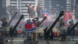 Tropas de Corea del Norte. Foto: AFP