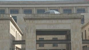 El Palacio de Justicia donde se aloja la Corte Suprema.