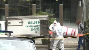 Foto: Encuentran un cuerpo en una maleta