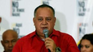Diosdado Cabello, diputado oficialista de Venezuela. Foto Archivo AFP
