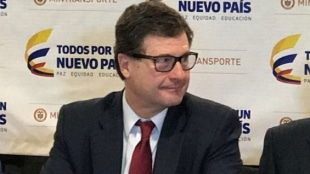 Luis Fernando Andrade, presidente de la Agencia Nacional de Infraestructura. Foto: Oficial