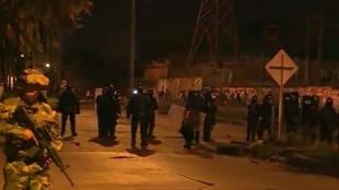 El Esmad de la Policía en Buenaventura.