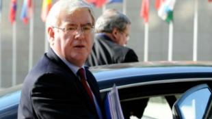 Eamon Gilmore, enviado especial de la Unión Europea (UE) para el proceso de paz en Colo,bia. Foto: AFP
